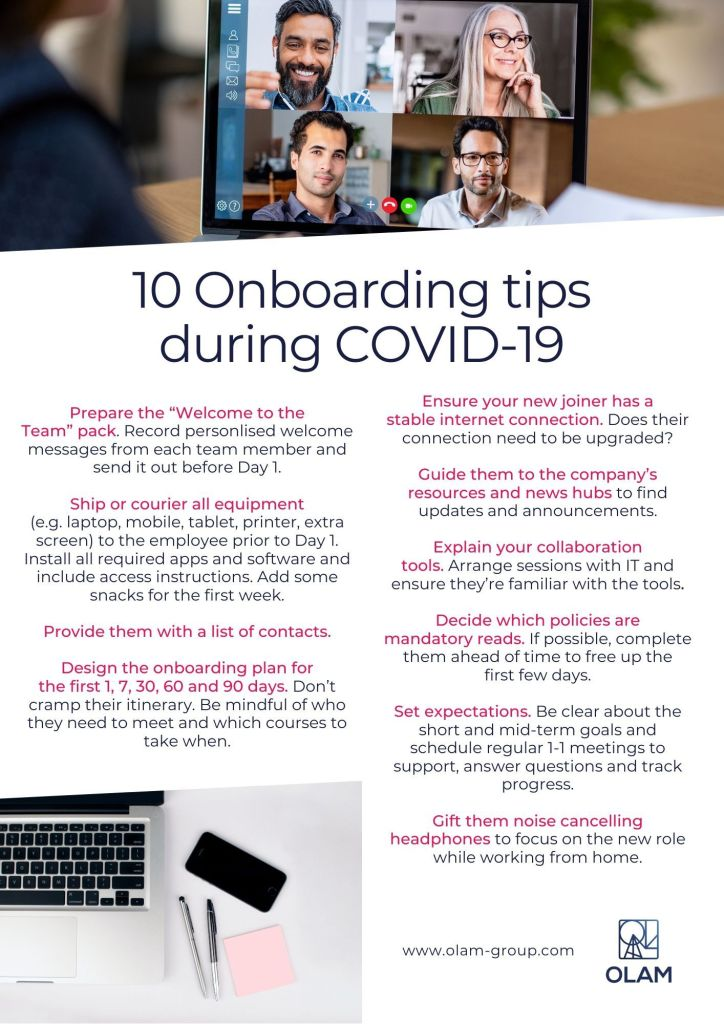 10 Onboarding tips during COVID-19