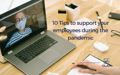 10 Tips to support your employees during the pandemic