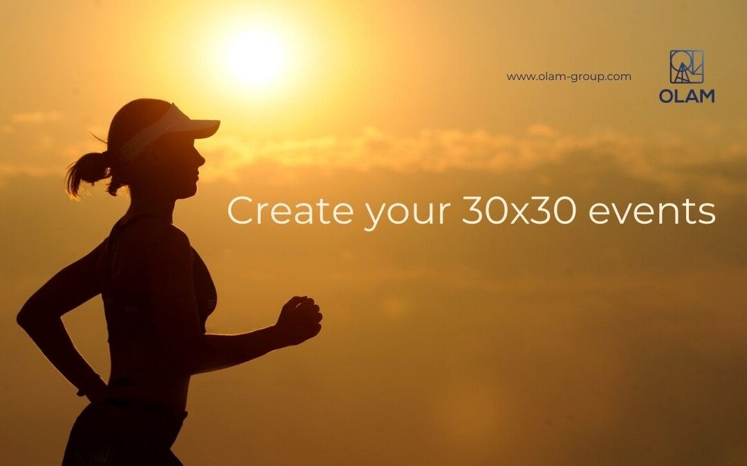 Create your 30×30 events