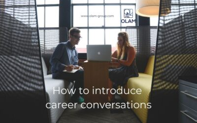 How to introduce career conversations