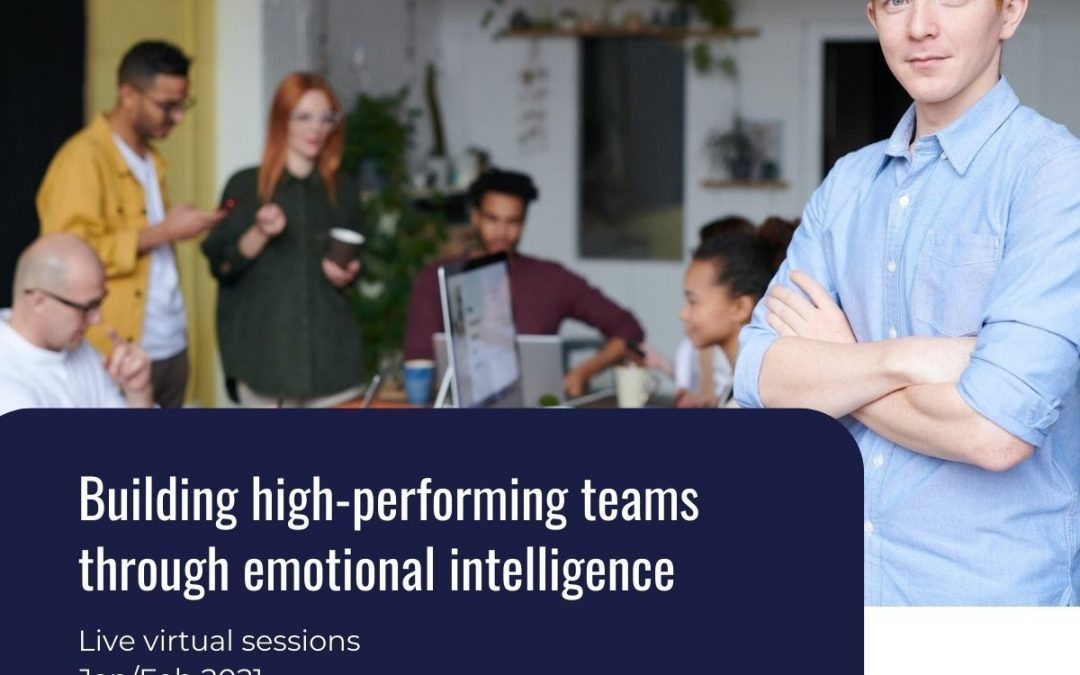 Building High-Performing Teams through Emotional Intelligence (virtual sessions)