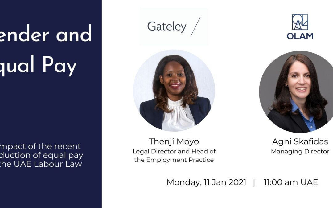 "Join our webinar ""Gender and Equal Pay"""