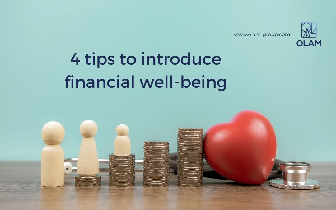 4 tips to introduce financial well-being