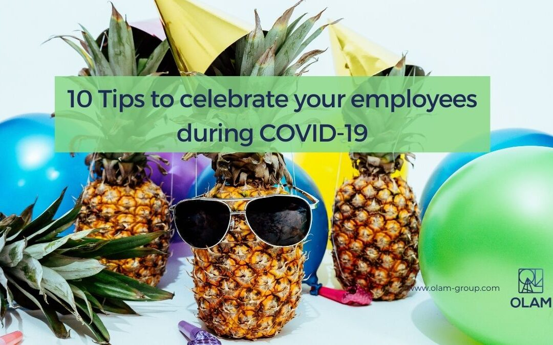 10 Tips to celebrate your employees during COVID-19