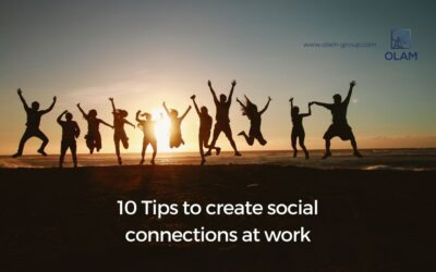 10 Tipsto create social connections at work