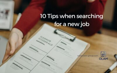 10 Tipswhen searching  for a new job