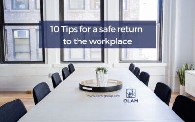 10 Tips for a safe return  to the workplace