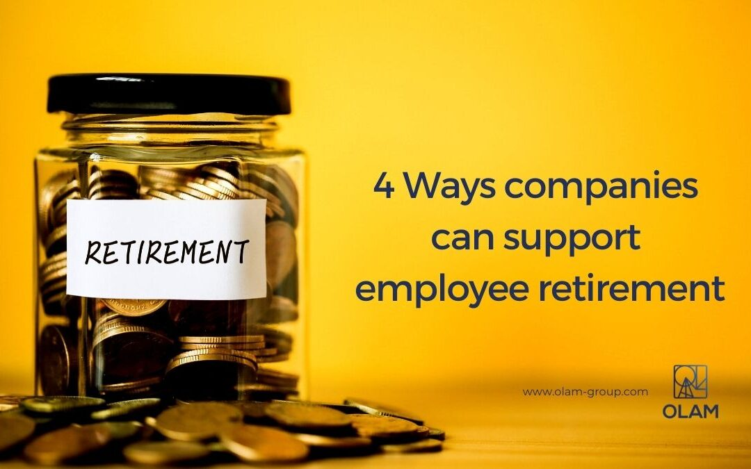 4 Ways companies can support employee retirement