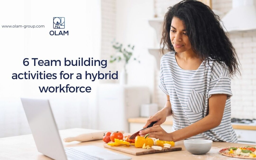 6 Team building activities for a hybrid workforce