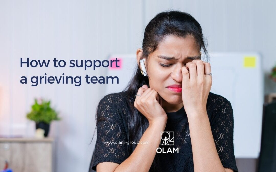 How to support a grieving team
